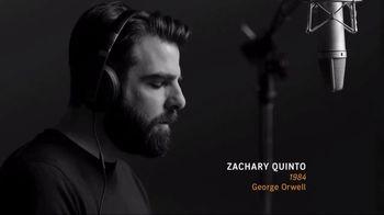 Audible.com TV Spot, '1984' Featuring Zachary Quinto
