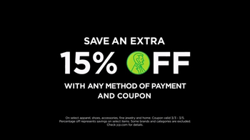 JCPenney Power Penney Days Sale TV Spot, 'Save an Extra 15 Percent' - Thumbnail 8