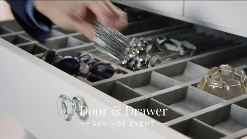 California Closets Door Drawer Savings Event Tv Commercial