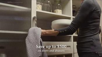 California Closets Door & Drawer Savings Event TV Spot, 'Custom System' - Thumbnail 2