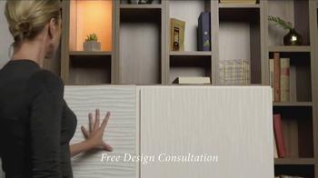 California Closets Door & Drawer Savings Event TV Spot, 'Custom System' - Thumbnail 4