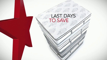 Macy's Presidents Day Mattress Sale TV Spot, 'Last Days to Save' - Thumbnail 2