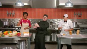 Popeyes $5 Butterfly Shrimp Tackle Box TV Spot, 'Eric's Cook-Off' - 3502 commercial airings