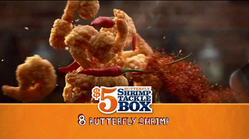 Popeyes $5 Butterfly Shrimp Tackle Box TV Spot, 'Eric's Cook-Off' - Thumbnail 4