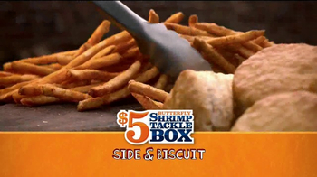 Popeyes $5 Butterfly Shrimp Tackle Box TV Spot, 'Eric's Cook-Off' - Thumbnail 5