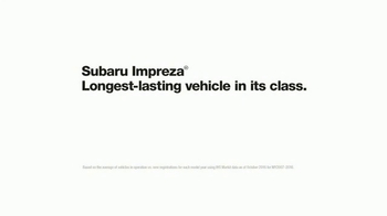 2017 Subaru Impreza TV Spot, 'More' [T1] - Thumbnail 4