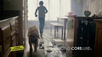 Lumber Liquidators CoreLuxe TV Spot, 'Life Happens'