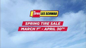 Les Schwab Tire Centers Spring Tire Sale TV Spot, 'Thanks' - 93 commercial airings