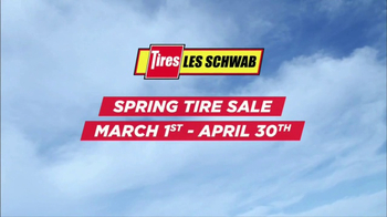 Les Schwab Tire Centers Spring Tire Sale TV Spot, 'Thanks' - 93 commercial airings