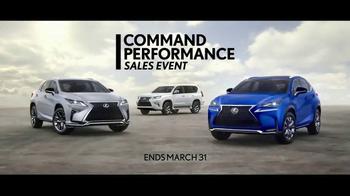 Lexus Command Performance Sales Event TV Spot, 'Most Elevated' [T1] - Thumbnail 8