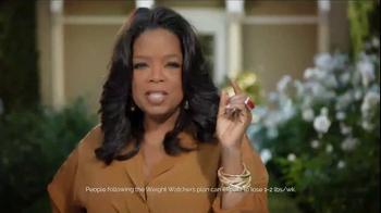 Weight Watchers TV Spot, 'Everything You Love' Featuring Oprah Winfrey - Thumbnail 1