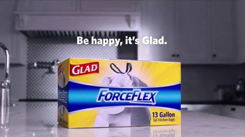 Glad ForceFlex TV Spot, 'Keep Your Dinner Secrets in the Bag' - Thumbnail 6