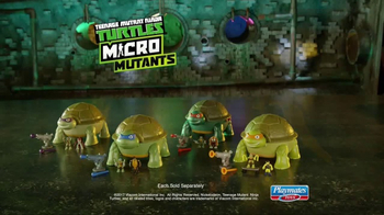Teenage Mutant Ninja Turtles Micro Mutants TV Spot, 'Mikey Pet Playset' - Thumbnail 9