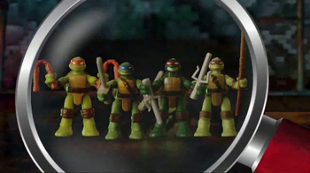 Teenage Mutant Ninja Turtles Micro Mutants TV Spot, 'Mikey Pet Playset'