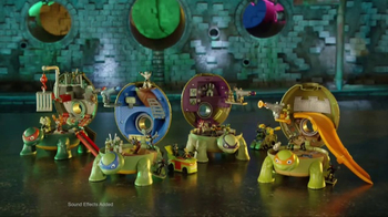 Teenage Mutant Ninja Turtles Micro Mutants TV Spot, 'Mikey Pet Playset' - Thumbnail 4