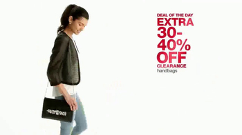 Macy's One Day Sale TV Spot, 'Save on Jewelry and Bras' - Thumbnail 4