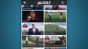 Golf Channel App TV Spot, 'Latest News and Live Golf'