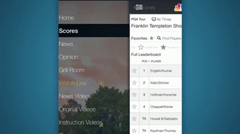 Golf Channel App TV Spot, 'Latest News and Live Golf' - Thumbnail 4