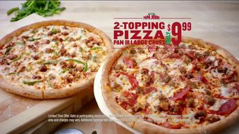 Papa John's TV Spot, 'Something You Didn't See Coming' - 1558 commercial airings