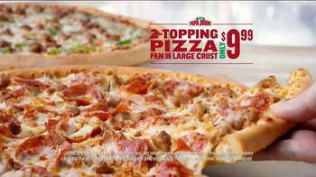 Papa John's TV Spot, 'Something You Didn't See Coming' - Thumbnail 8