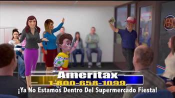 Ameritax TV Spot, 'Supermercado' [Spanish]