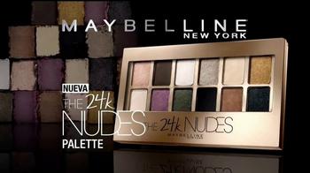 Maybelline New York 24K Nudes Palette TV Spot, 'Atrevete' [Spanish] - Thumbnail 4