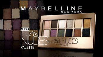 Maybelline New York 24K Nudes Palette TV Spot, 'Atrevete' [Spanish] - Thumbnail 9