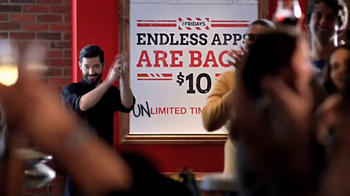 TGI Friday's Endless Apps TV Spot, 'Back for Good: Applause' - Thumbnail 1