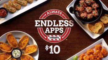 TGI Friday's Endless Apps TV Spot, 'Back for Good: Applause' - Thumbnail 5
