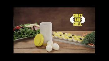 Shake and Shell TV Spot, 'World's Fastest Egg Peeler' - Thumbnail 2