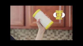 Shake and Shell TV Spot, 'World's Fastest Egg Peeler' - Thumbnail 3