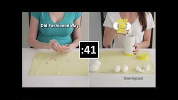 Shake and Shell TV Spot, 'World's Fastest Egg Peeler' - Thumbnail 4