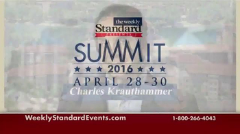 Weekly Standard Events TV Spot, '2016 Summit' - Thumbnail 1