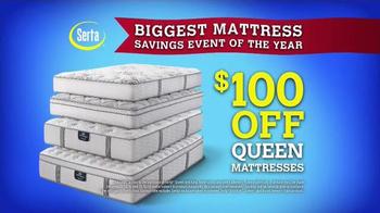 Sam's Club Biggest Mattress Savings Event of the Year TV Spot, 'Serta' - Thumbnail 4