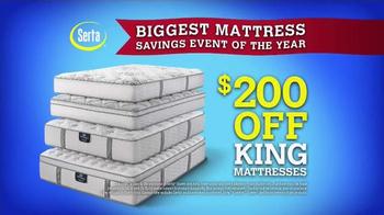 Sam's Club Biggest Mattress Savings Event of the Year TV Spot, 'Serta' - Thumbnail 5