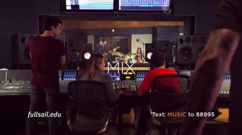 Full Sail University TV Spot, 'Make Music' - Thumbnail 5