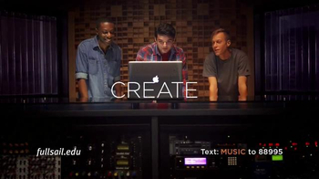 Full Sail University TV Spot, 'Make Music' - Thumbnail 6
