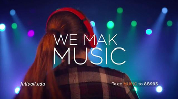 Full Sail University TV Spot, 'Make Music' - Thumbnail 8