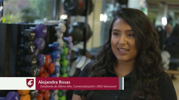 Washington State University TV Spot, 'Alejandra Rosas' [Spanish]