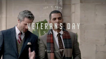 JoS. A. Bank Veterans Day Sale TV Spot, 'Suits, Sportcoats and Sweaters' - Thumbnail 2