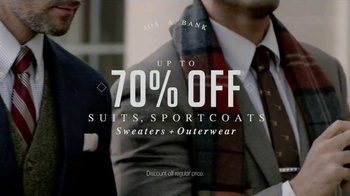 JoS. A. Bank Veterans Day Sale TV Spot, 'Suits, Sportcoats and Sweaters' - Thumbnail 3