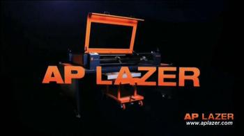 AP Lazer TV Spot, 'Engrave, Etch or Cut' - Thumbnail 1