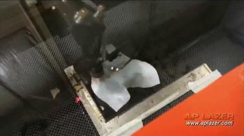 AP Lazer TV Spot, 'Engrave, Etch or Cut' - Thumbnail 3