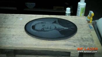 AP Lazer TV Spot, 'Engrave, Etch or Cut'