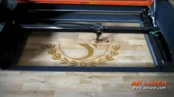 AP Lazer TV Spot, 'Engrave, Etch or Cut' - Thumbnail 7