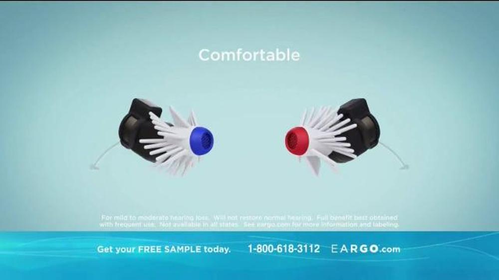 Eargo TV Commercial, 'Virtually Invisible'