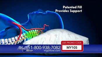 MyPillow TV Spot, 'Adjustable Fill' - Thumbnail 5