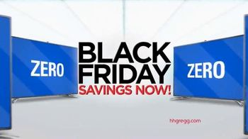 h.h. gregg TV Spot, 'Black Friday Savings Now: Televisions'