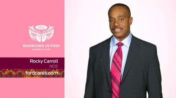 Ford Warriors in Pink TV Spot, 'NCIS' Featuring Rocky Carroll - 2 commercial airings