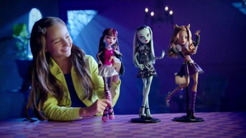 Monster High Extra Tall Ghouls TV Spot, 'Extra Large Fashion'